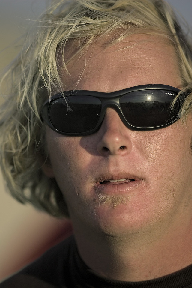<h3>The Surfing Teacher</h3> Mat is an alpha dog surfer on Nantucket.  22 August 2006