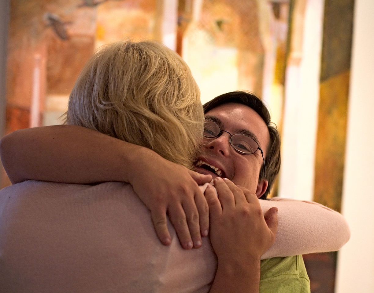 <h3>Gallery Opening</h3> Every Friday night in the summers, the galleries on Old South Wharf have openings.  11 August 2006
