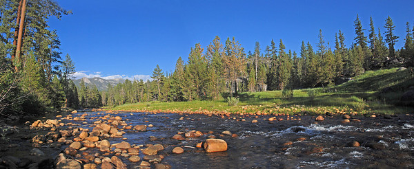 Looking eastward-upstream-from our swimming hole!