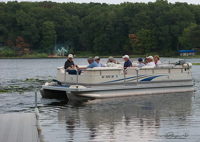 8/18   Evening Boat Ride on Crooked Lake