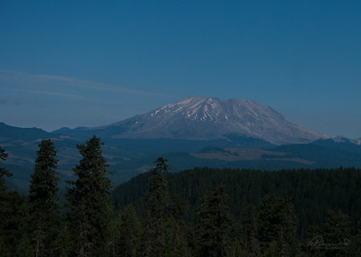 8/4   Mount St. Helens View of West Side.