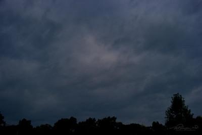 9/30  Ominous Looking Clouds