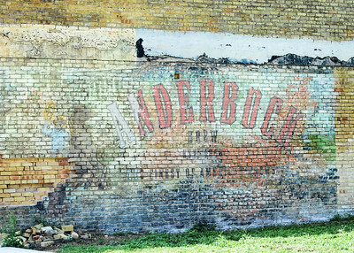 Ghost Sign in Granger, TX