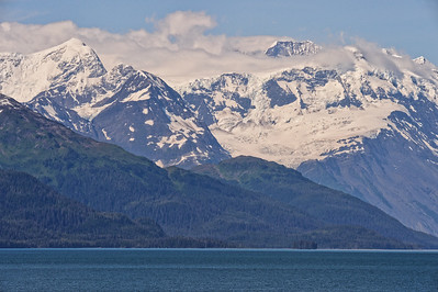 Just One of Many Layered Landscapes in Alaska