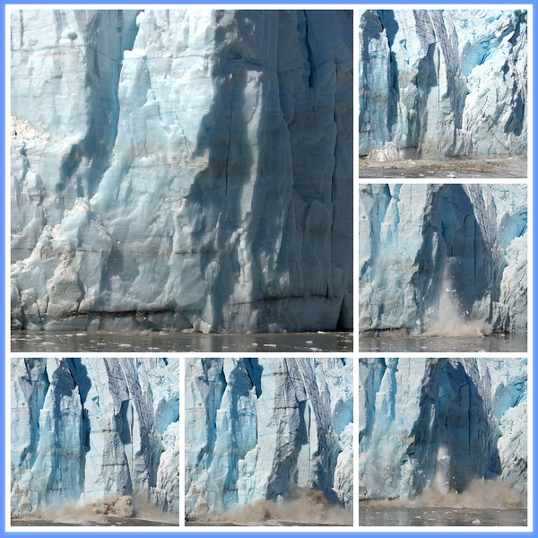 The Calving of a Tidewater Glacier