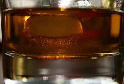 12/20 Floating Ice in a really good Cognac.  Yum.  Looks like a little cognac mushroom cloud.