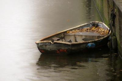 November 16, 2009  Just a boat... Amsterdam