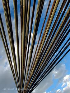 August 21, 2009  Suspension Cables, Royal Gorge Bridge, CO