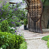 "May 13, 2009 - ""Garden Gate"" - Entrance to  BIG RED SUN nursery in Austin."