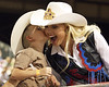 First kiss<br /> <br /> (Aug. 21, 2009) It's time for the Norco Rodeo, and how better to start than by kissing Miss Rodeo America?