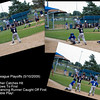 "May 12, 2009 - ""Double Play"" - Pretty exciting catch (pun intended)!  First three shots I took at Sundays playoff game.  Grandson made the catch at first base to complete the double play.  I am not sure who was more excited, the players or the parents/grandparents.   The team, that grandson is on, won and advances to the semifinals."