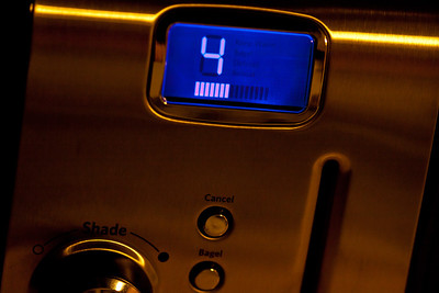 December 28, 2011 - My new toaster has a progress bar.  You know you're jealous...