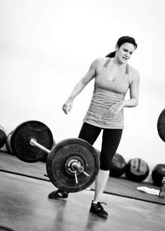 December 3, 2012 - I took my camera to CrossFit this morning!
