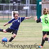 """09-29-2012<br /> """"Kick It Girl!""""<br /> <br /> Today is the first day I got to watch Sutton and Hughes play soccer this fall.  Traveling has kept me away.  I was so proud of both of them.  It was a very cloudy day!  Rain is supposed to be on the way.<br /> <br /> I am overwhelmed with your comments on my under the interstate shot.  Thanks so much.  I hope to have time to comment later this evening.  My 9-29 photo never showed up on the daily photos. It is of Sutton playing soccer.  I hate y'all didn't get to see it.<br /> Donna"""