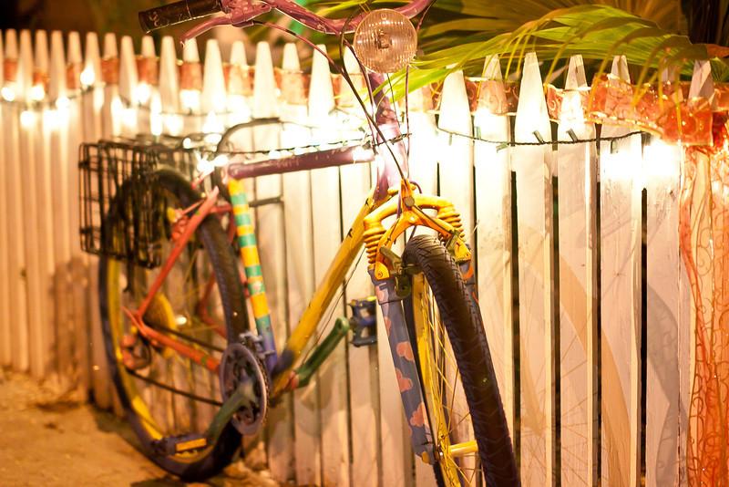 Dec 16, 2012 - A decorated bike in Key West