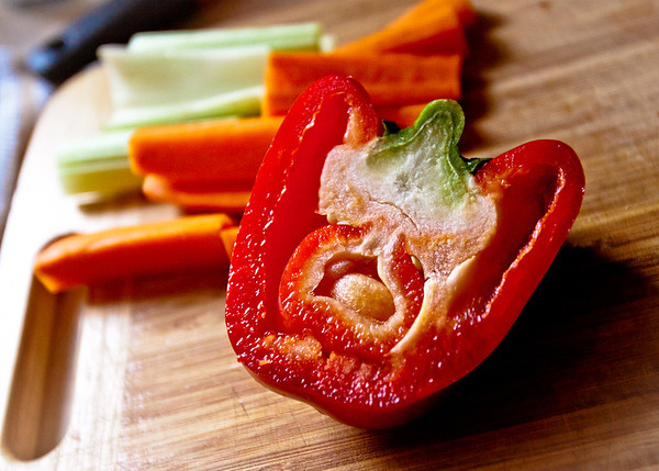 Dec 5, 2012 - I think my red pepper was pregnant...