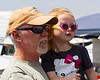 Little Hollywood<br /> <br /> (April 9, 2013) Jim and Austyn at the airshow. They were Hollywood; I was paparazzi.
