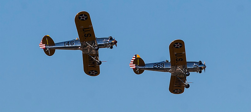 (Nov. 9, 2013) I missed the annual Veteran's show at Flabob Airport this year, but caught some of the action from Mount Rubidoux.