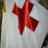"12-12-2010<br /> ""Red Cross""<br /> <br /> The Red Cross had a float in the parade (had to pull another daily from the parade) and I captured the flag as they passed.  I'm thankful for the good that they have done through the years.<br /> <br /> Have a great week.<br /> Donna"