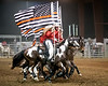 Thin Red Line<br /> <br /> (April 21, 2018) Norco Horseweek started last night with a tribute to firefighters and emergency first responders.