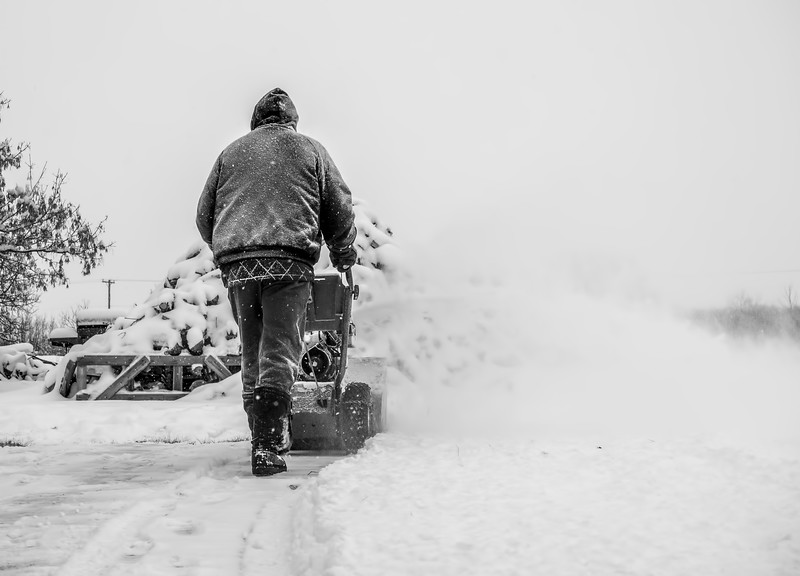 I know you've seen this before…. but this is what we do here, everytime it snows. Tedious. 01/04/19