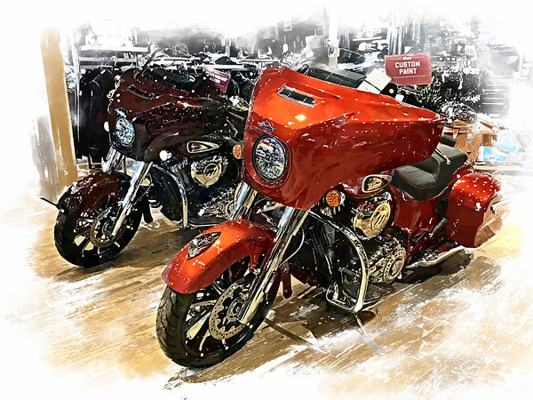Two more Indian Motorcycles