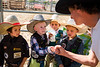 Admiration<br /> <br /> (October 21, 2019) One can never underestimate the power of a role model. PRCA bullrider Eli Necochea was once one of these little tigers, and he came to support them at their local finals. You think they know who he is?