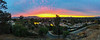 3 minutes later<br /> <br /> (December 18, 2020) Same sunrise, a few minutes later, a few degrees to the east, and taken with an old iPhone 6s as a panorama.