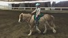 Milestones<br /> <br /> (February 16, 2020) Austyn has been dying to ride bareback for months, so today when there were no lessons (and no supervision beyond me), she had her chance. Both she and Nanny took to it right away, and after demonstrating she had good control, we went and rode outside on the track. That is a very good and very round pony.