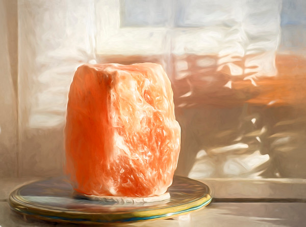 Himalayan Salt candle (by Janet)