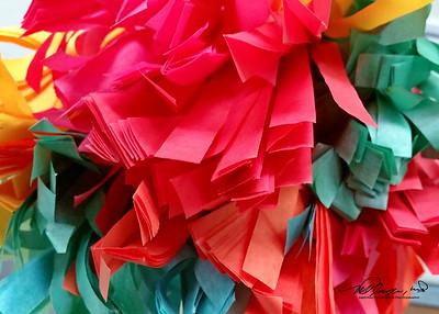 Colorful Paper Decoration.