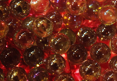 3/21   Marbles on Painted Background