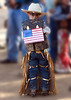Dress to impress<br /> <br /> (June 11) One of the Mutton Bustin' competitors at the Jurupa Rodeo.