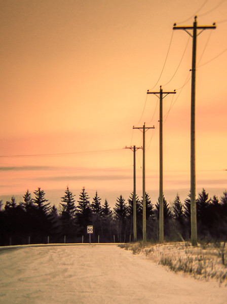 Winter walk down my winter road ...<br /> 01.31.15