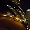 The Bean at night<br /> Chicago
