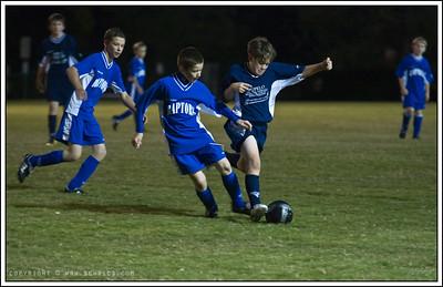 October 21, 2008  Soccer night...