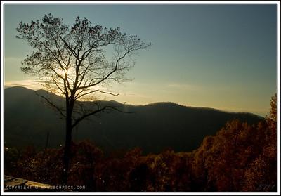 November 13, 2008  A View from Skyline Drive, Virginia Inside Shenandoah National Park