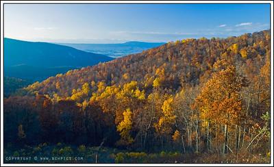 November 16, 2008  Taken from Skyline Drive, Shenandoah National Park, VA