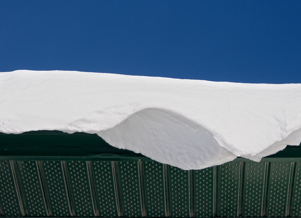 Snow on our roof... 11.13.12