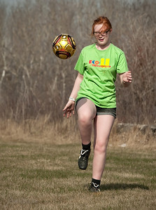 It's official...!!   Spring is here..... not only are the crocus in bloom, but back yard soccer practice has commenced....!!  05.07.11