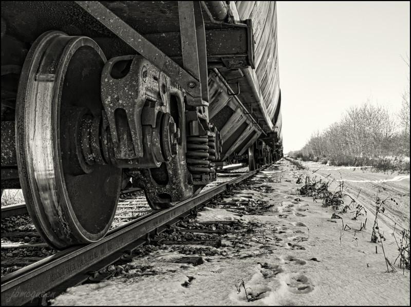 Where the metal hits the tracks. 02.22.12