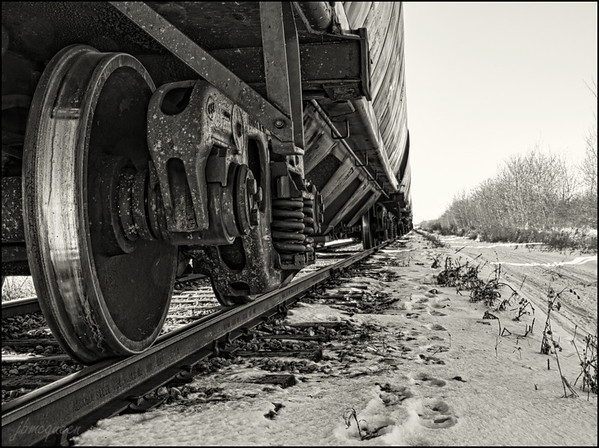 Where the metal hits the tracks. 02.22.12