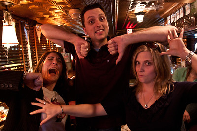 October 25, 2010 The Elbow Dance and some Awkward Antlers.