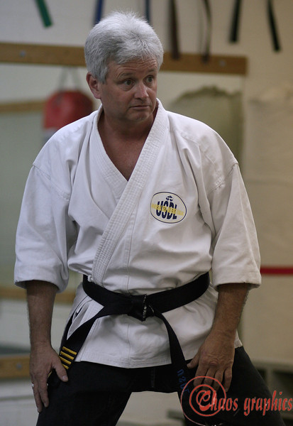 """Notice anything different?<br /> <br /> (Nov. 8) It was too dark when I got home to do anything outside. This is the karate instructor who heads the dojo where Jim teaches Aikido. Here's another for today:<br />  <a href=""""http://chaosgraphics.smugmug.com/gallery/1841037"""">http://chaosgraphics.smugmug.com/gallery/1841037</a>"""