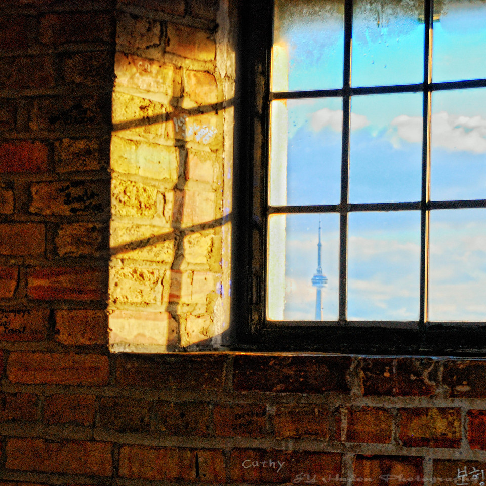 Window over the City. An image that reminds me how narrow our vision could be.