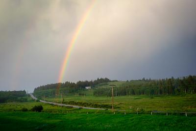 Reaching the rainbow