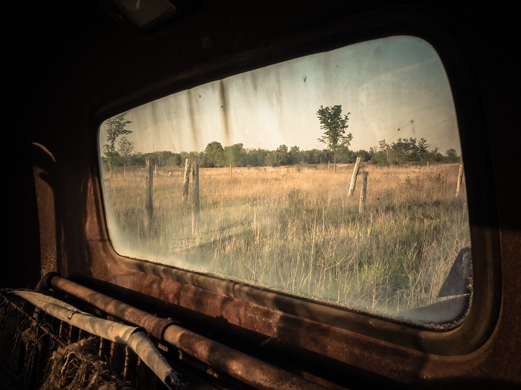 I can imagine the life once upon a time while looking thru the window of the past.