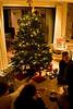 After dinner<br /> <br /> (December 25, 2012) Christmas eve in Prescott. Jake is trying on socks.