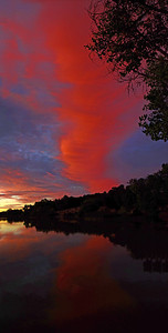 August 27  I may create an entire gallery just for the many images I have of the incredibly beautiful sunset on August 26 !  2 shot panorama with a slight bit of contrast added