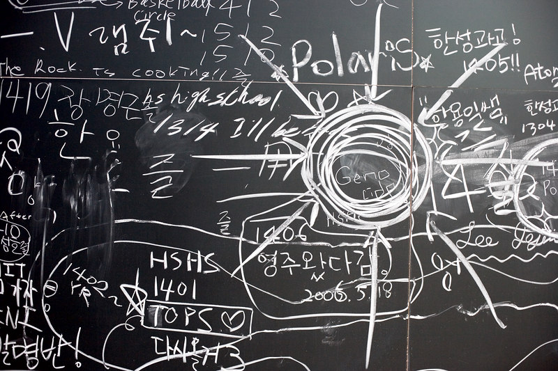 <h3>Stata Blackboard</h3> Do students actually do this?  It looks too planned.  18 May 2006